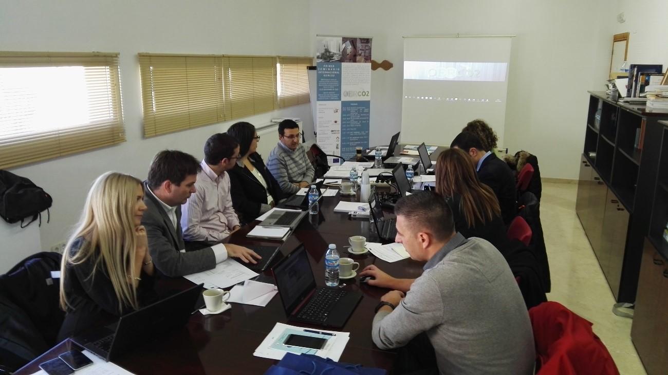 Primera reunión del proyecto oerco2 en cehegin (españa)
