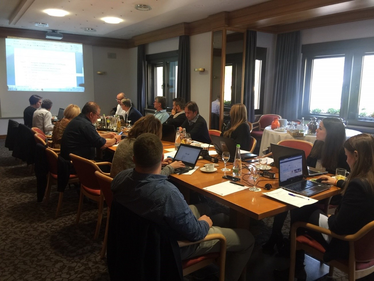 Cuarta reunión del proyecto SafePlace en Würzburg