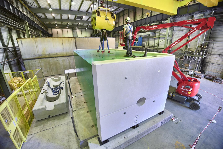 Transforstone, Calizas Alba y CTM colaboran en el suministro de piedra para el complejo acelerador de partículas SPS construido por el CERN