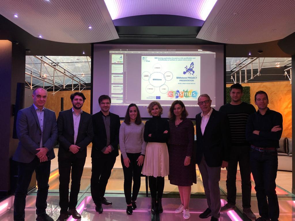 Tercera reunión del proyecto BIMstone en Bucarest (Rumanía)