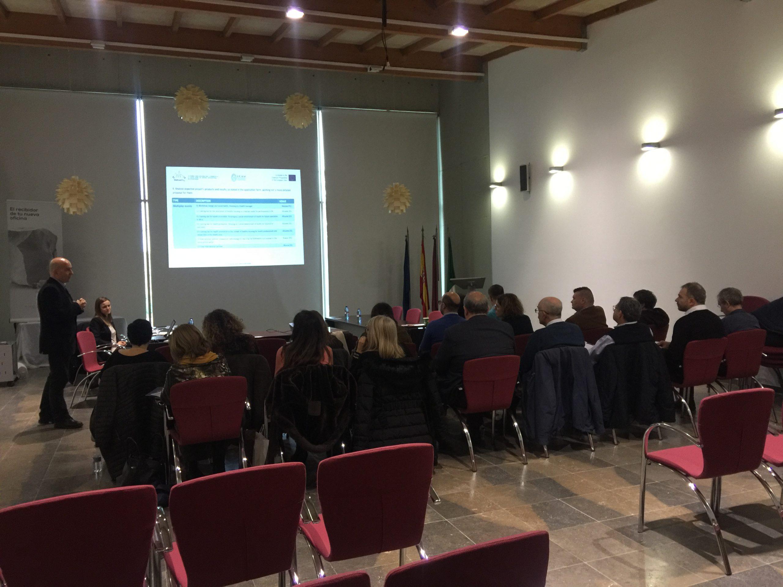 El CTMármol sede de la Primera Reunión del proyecto BIMhealthy