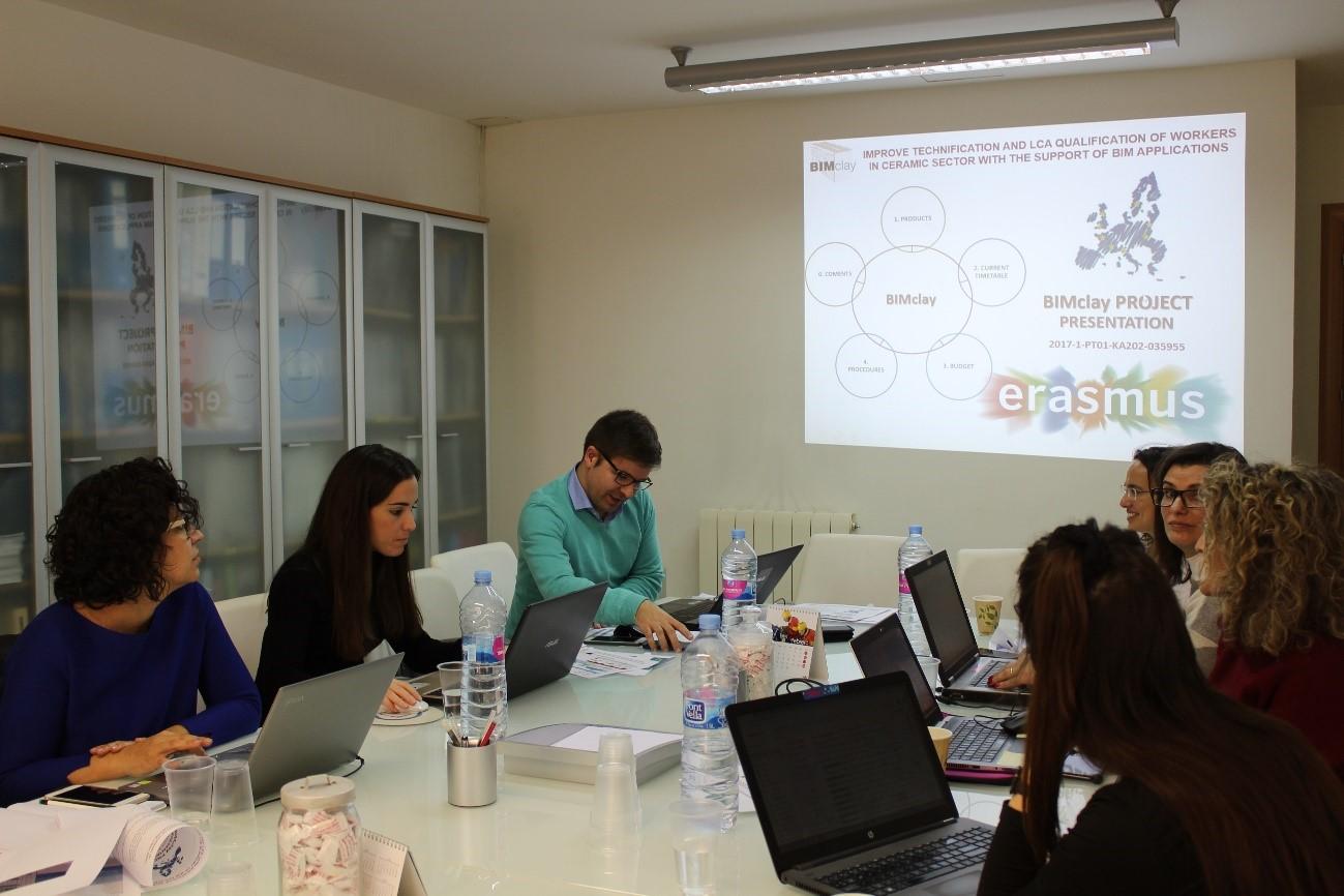 Tercera reunión del proyecto BIMclay