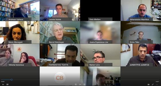Celebrada la segunda reunión online del proyecto europeo BlockWASTE