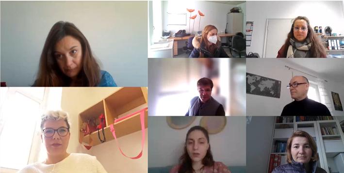 Reunión online del proyecto WinSTONE