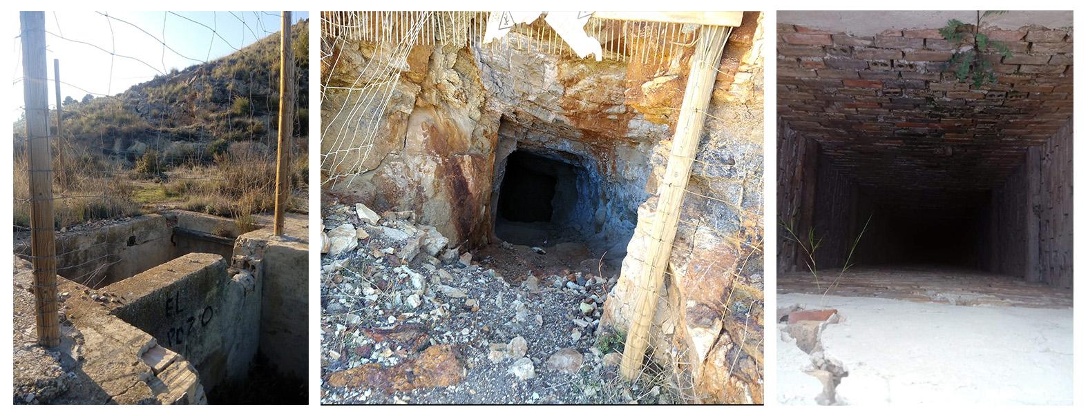 Actualización del inventario de pozos mineros abandonados de la Región de Murcia