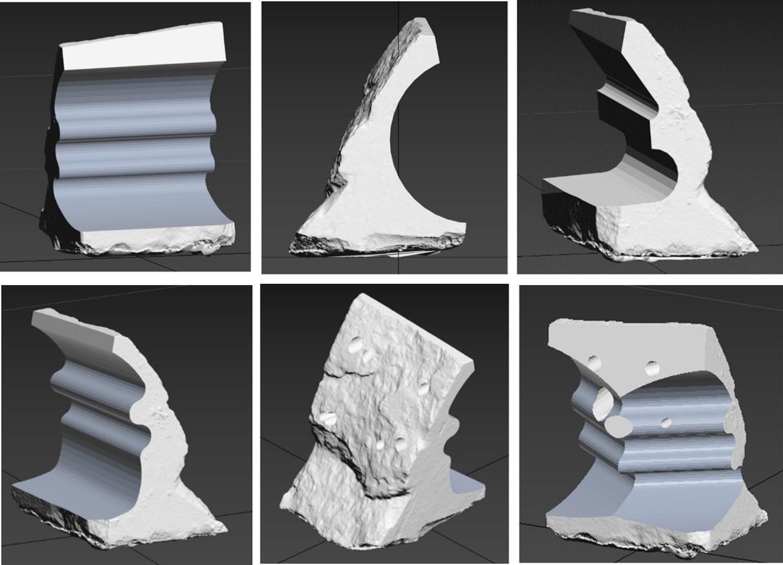 El CTM elabora varios prototipos de arrecife artificial empleando residuos de la industria del sector del mármol para el proyecto CORAL3D