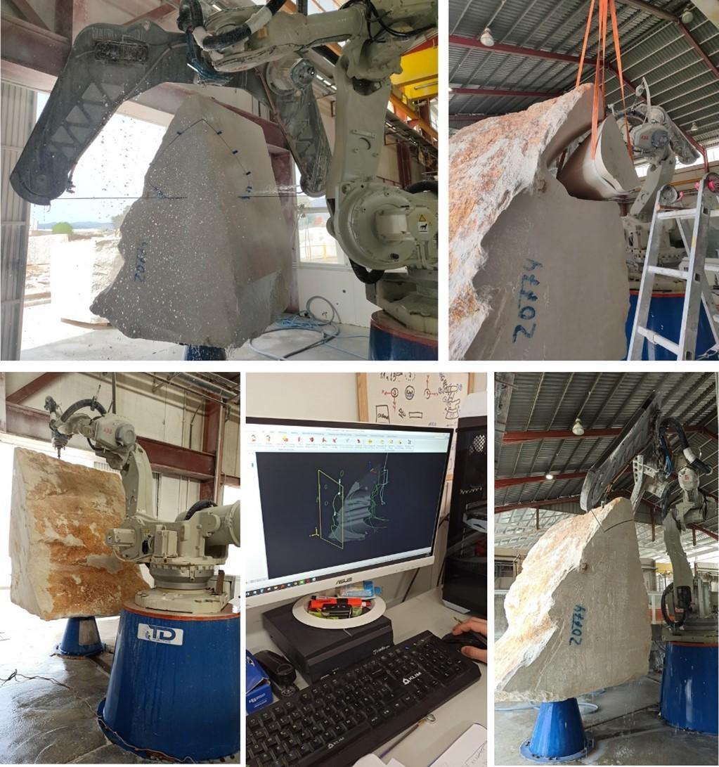 El CTM comienza con la fabricación del arrecife artificial del proyecto CORAL3D mediante modelado con maquinaria CNC